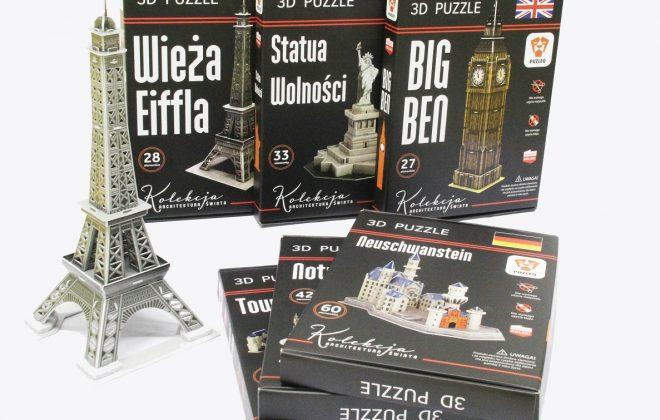 Puzzle 3D - Druk Intro S.A.